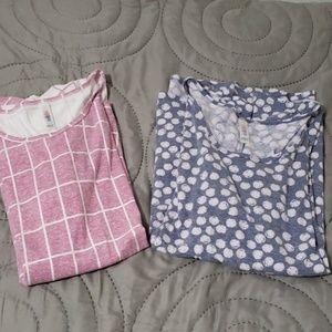 Lularoe Perfect T bundle, 2 shirts